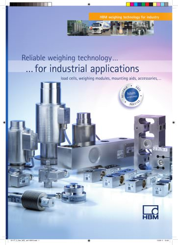 Reliable weighing technology for industrial applications