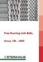 Free Running Link Belts - Group 100 - 4000