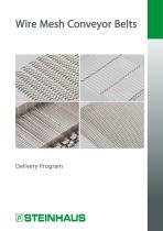 Wire Mesh Conveyor Belts - Delivery Program