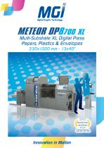 MGI Meteor DP8700 XL - Multi-Substrate Digital Press