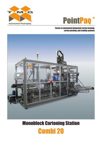 Combi 20 - Monoblock Cartoning Station