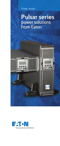 Pulsar series  power solutions  from Eaton