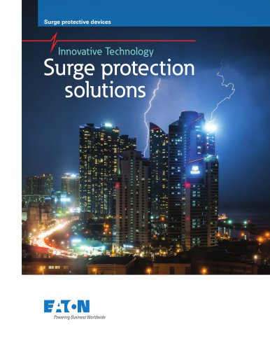 Surge protection solutions