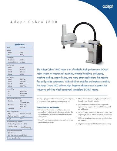Adept Cobra i800