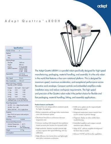 Adept Quattro s800H