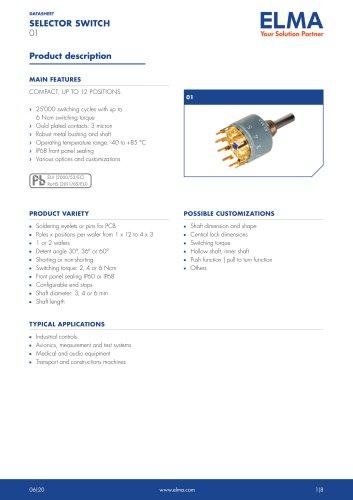 01 Selector Switch_Datasheet_E