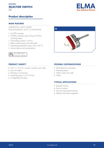 08 Selector Switch_Datasheet_E