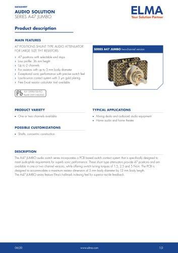 A47 Jumbo Audio Solution_Datasheet_E