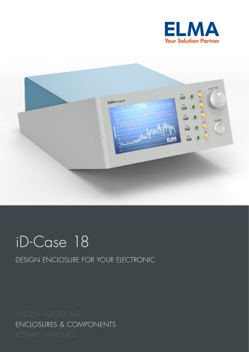 Brochure Design Enclosure iD-Case 18_E