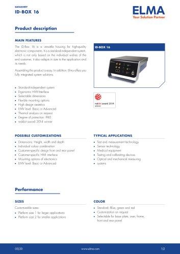 iD-Box 16_Datasheet_E
