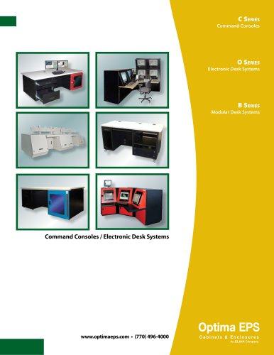 Optima Stantron Desks and Consoles Catalog