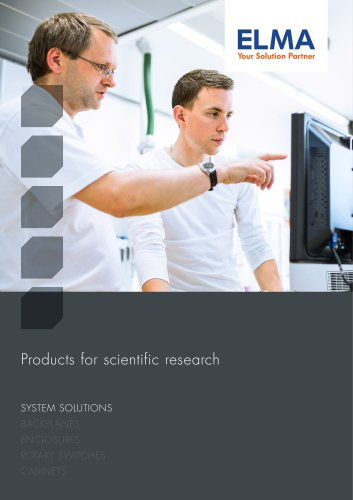 PRODUCTS FOR SCIENTIFIC RESEARCH