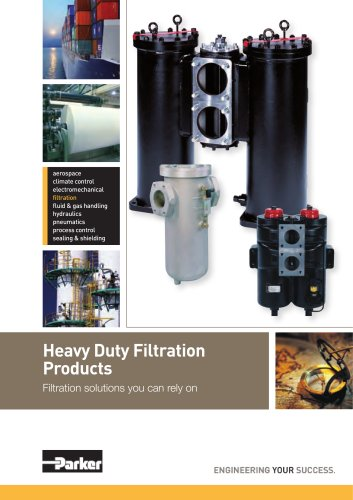 Heavy Duty Lubrication and Fuel Filter ranges Catalogue
