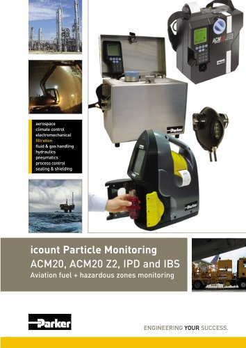 Icount Condition Monitoring Product Catalogue. IPD, ACM20, ACM20 Z2 and icountBS