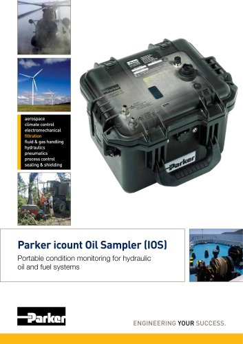 Parker icount Oil Sampler
