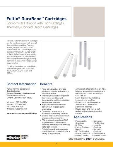Fulflo DuraBond Cartridges