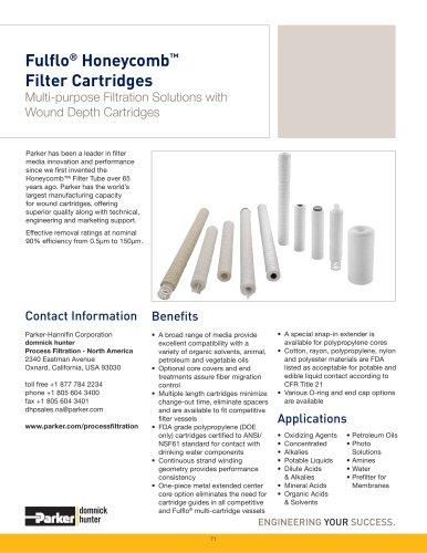 Fulflo Honeycomb Filter Cartridges