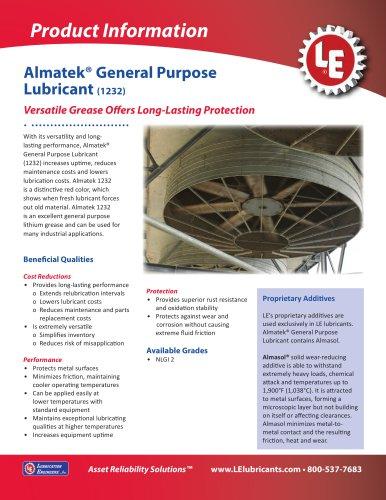 Almatek® General Purpose Lubricant (1232