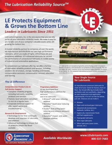 LE Corporate Brochure
