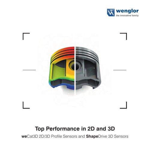 Brochure 2D/3D Sensors