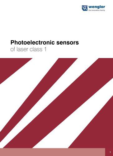 Catalog photoelectronic Sensors of laser class 1