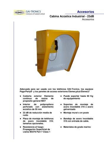Cabina Acústica Industrial - 23dB