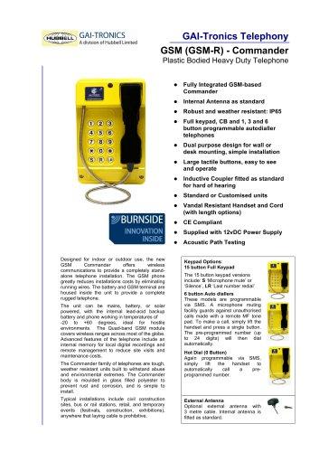 GSM (GSM-R) Commander