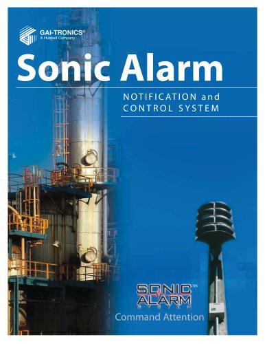 Sonic Alarm
