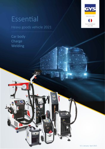 Essential Heavy goods vehicle 2021 Car body Charge Welding