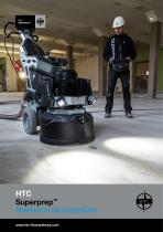 The concept brochure of HTC Superprep™ in Spanish