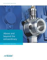 AB SCIEX QTRAP® 5500 System: Above and Beyond the Extraordinary
