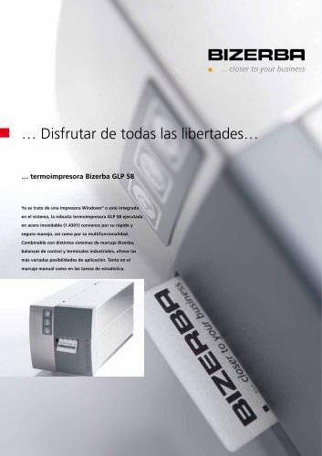 Catálogo Impresora térmica GLP 58
