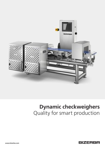 Dynamic checkweighers Quality for smart production