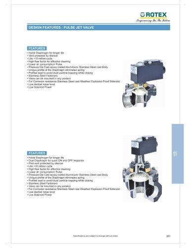Pulse jet valve