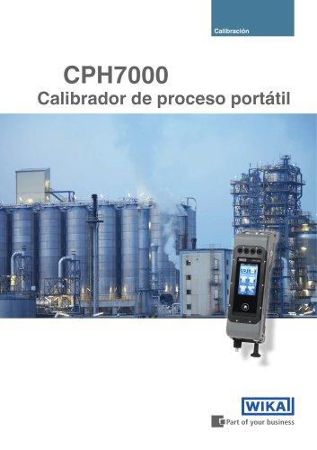 CPH7000 Calibrador de proceso portátil
