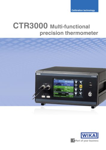 CTR3000 Multi-functional precision thermometer