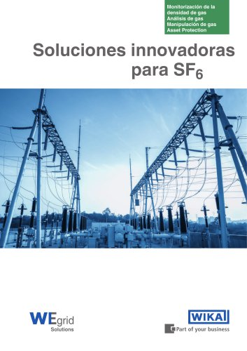 Soluciones innovadoras para SF6