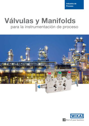 Valves and manifolds for process instrumentation