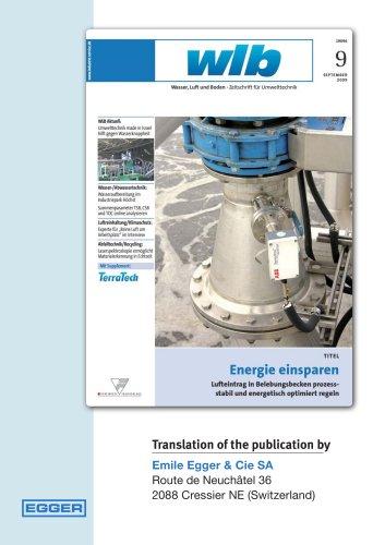 Utilizing potentials for energy saving