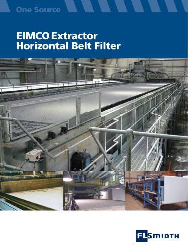 Eimco Extractor Horizontal Belt Filter