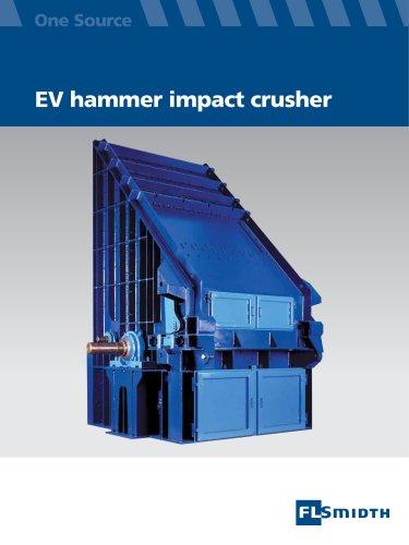 EV hammer impact crusher