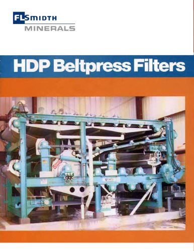HDP Beltpress Filters