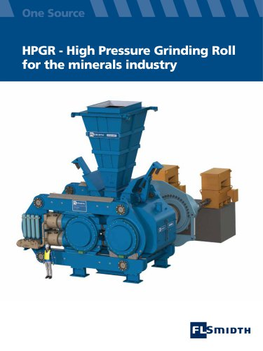 High Pressure Grinding Roller (HPGR)