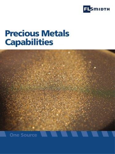 Precious Metals Capabilities