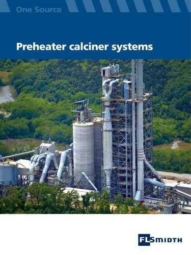 Preheater calciner systems