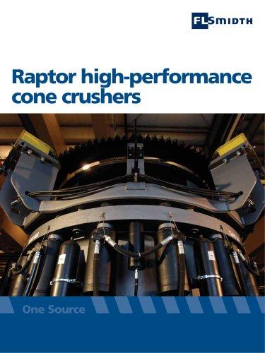 Raptor high-performance cone crushers