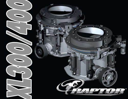 Raptor XL300/XL400 Brochure