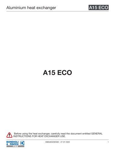 Aluminium Heat Exchanger | A15 ECO