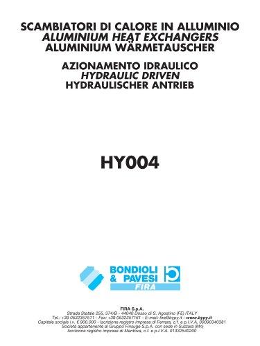 Aluminium Heat Exchangers / Hydraulic Driven