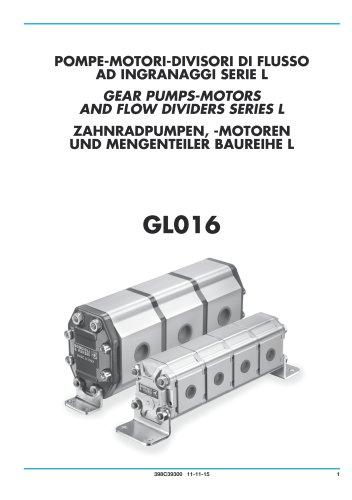 Gear Pumps, Motors and Flow Dividers - Aluminium body